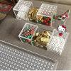 Mini rectángulos de acrílico elegantes para el cubo del caramelo del favor de la boda
