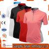 Qualitätssport-Hemd kundenspezifisches normales Dryfit Polo-T-Shirt für Frauen