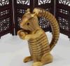 Esquilo de madeira dos brinquedos das crianças