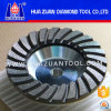 Huazuan 4.5  Wielen van de Kop van de Diamant de Malende voor de Concrete Snijder van de Steen