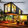 Casa do recipiente/no subsolo casas do recipiente/casas de madeira pré-fabricadas baixo custo