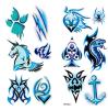 Tatuaje del arte de la etiqueta engomada del tatuaje de la transferencia del agua del tatuaje del tótem