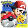 2-ые Крен силы шарика 10000mAh Pokemon поколения волшебный с светом СИД