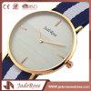 Aço inoxidável Smart Watch Men & Ladies Quartz Nylon Wrist Watch
