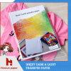 A3/A4 Document van uitstekende kwaliteit van de Overdracht van de T-shirt van Pu het Donkere voor Katoen