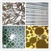 Edelstahl-Platte, die dekorativen Farben-Höhenruder-Dekor ätzt