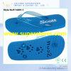 De comfortabele PE Wipschakelaars van Slipper Cheap met Blue pvc Strap