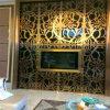Panneau de décoration de fond d'écran en métal d'écran de mur de TV