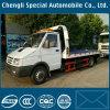 Iveco 4X2 도로 평상형 트레일러 구조차 구조 트럭