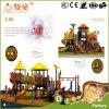 Patio al aire libre de la casa plástica de la selva de los juguetes del vaquero de Guangzhou