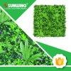 Seto artificial de la licencia del último PE fresco del diseño del jardín para el uso al aire libre
