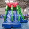 子供のためのプールが付いている大人か巨大なスライドのためのコマーシャルによって使用される巨大で膨脹可能な水スライド
