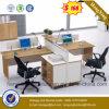 最も新しい設計事務所の机2のシートのオフィスの区分(HX-PT14043)