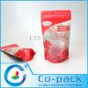 Levantarse la bolsa de plástico con Zipper para Grocery Packaging
