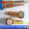 Ajustage de précision d'extrémité mâle métrique de tuyau de l'hydraulique