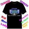 Camiseta que contellea del EL de Tqualizer