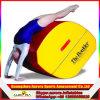 Nueva estera posterior acabada del entrenamiento de la voltereta sobre las manos con insignia modificada para requisitos particulares