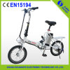Fabriqué en Chine Alloy Mini Folding Electric Bike