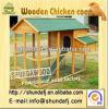 Gaiola de galinha de madeira (SDC08)
