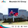 Placa de indicador do diodo emissor de luz do anúncio ao ar livre do estádio de futebol