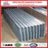 Chapa de aço ondulada galvanizada Dx51d para a telhadura (zn40-275g)