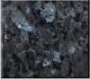普及した磨かれた青い真珠の暗い灰色の黒い花こう岩のタイル