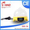 Hhdのセリウムの公認のフルオートマチックの7個の卵の定温器