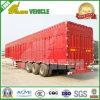 Cargaison en bloc Goods Van Trailer de cargaison de transport inclus de cadre