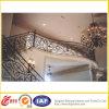 Pasamano profesional de la escalera del hierro labrado del diseño