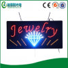 DEL Jewelry Sign DEL Signboard DEL Open Sign pour Indoor Use (Hsj0040)