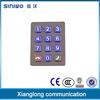 Kiosk fait sur commande 12 Buttons Numeric Metal Illuminated Keypad avec le connecteur USB