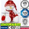 Jouet mou de peluche de bonhomme de neige de peluche de coton du cadeau pp de la CE