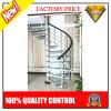 Sistema de las escaleras de la escalera espiral