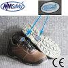 Nmsafety Zapatos de seguridad de cuero con estilo (LMD220)