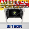 Toyota Camry (W2-A9127T)를 위한 Witson Android 4.4 System Car DVD