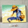 Met de hand gemaakte Olieverfschilderij van het Olieverfschilderij DIY van jonge geitjes het Digitale door Aantallen