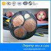 Câble d'alimentation souterrain du conducteur XLPE d'en cuivre de basse tension avec blindé