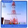 Tour de télécommunication en acier autoportant en angle