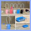 Tsa 3 Vorwahlknopf-Spielraum-Gepäck-Koffer-Vorhängeschloss-Beutel-sicheres Code-Verriegelungportable-Kabel