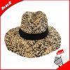 Chapéu Misturar-Colorido de Sun do chapéu de palha do Raffia