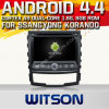 A9 Chipset 1080P 8g ROM WiFi 3G 인터넷 DVR Support를 가진 Ssangyong Korando 2010-2013년을%s Witson Android 4.4 Car DVD