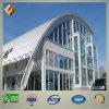 Edifício de vidro do revestimento da aparência bonita com Sructure de aço