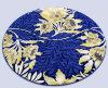 Циновка настила Handmade ковра искусствоа циновок ковра шерстей круглая
