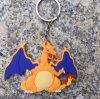 Boucle principale de support de clé de trousseau de clés de dessin animé pour le cadeau