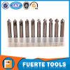 Foret solide d'endroit de carbure de première cornière de 90 degrés pour le traitement en aluminium