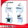 De nauwkeurige Laser die van de Vezel van de Delen van het Metaal van het Staal van het Koper van het Aluminium Machine merken