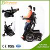 Im Freien elektrischer stehender Energien-Rollstuhl mit LED-Licht