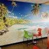 Personifiziertes Natur-Landschaftsqualitäts-Wandbild wickelt Tapeten-Bedrucken ein