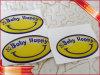 etiqueta engomada clara de Vinly de la escritura de la etiqueta de epoxy de la etiqueta engomada del PVC 3D