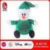 Weihnachtsgeschenk angefüllter Schneemann mit Strickjacke